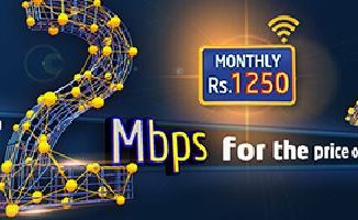 PTCL Offers 2Mbps Internet Speed in 1Mbps Package