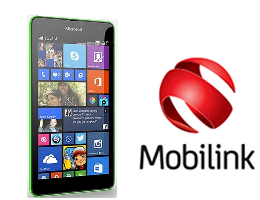 Mobilink with Microsoft Lumia Devices in Pakistan