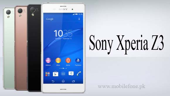 Sony Xperia Z Price in Pakistan & Specifications