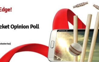 Cricket Opinion polls Free S6 offer