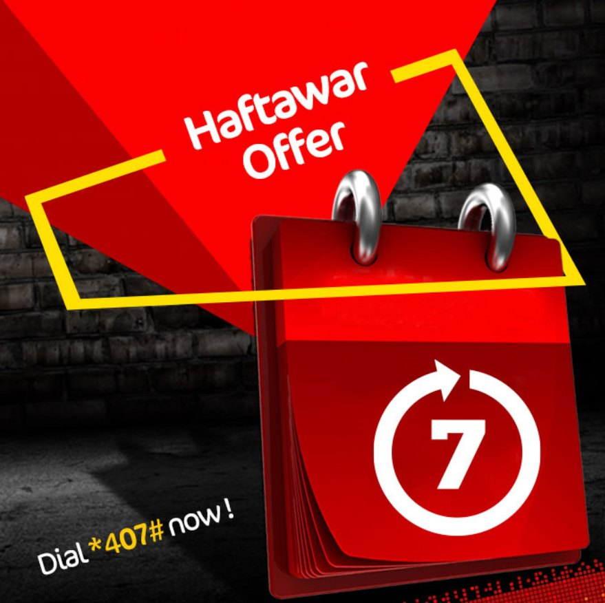 haftwar offer - mobilink jazz weekly hybrid offer