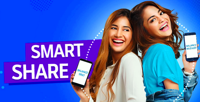 Telenor Smart Share - Transfer Balance With Code Method