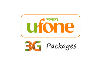 ufone 3g daily internet packages details