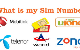 How can I know my SIM card number free without balance