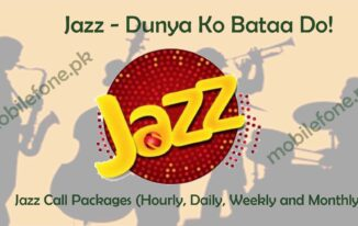jazz call package All info