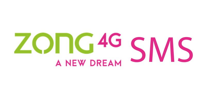 All Zong SMS Packages Daily, Weekly & Monthly